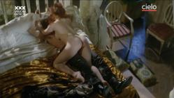 Paola Senatore nude full frontal and Claudia Cavalcanti nude bush and sex - Maladonna (IT-1984) (10)