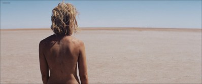 Mia Wasikowska nude skinny dipping - Tracks (2013) hd1080p (3)
