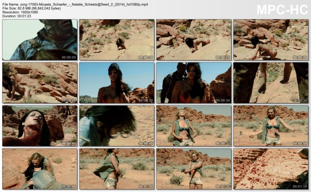 Micaela Schaefer nude full frontal and Natalie Scheetz bra - Seed 2 (2014) hd1080p (7)