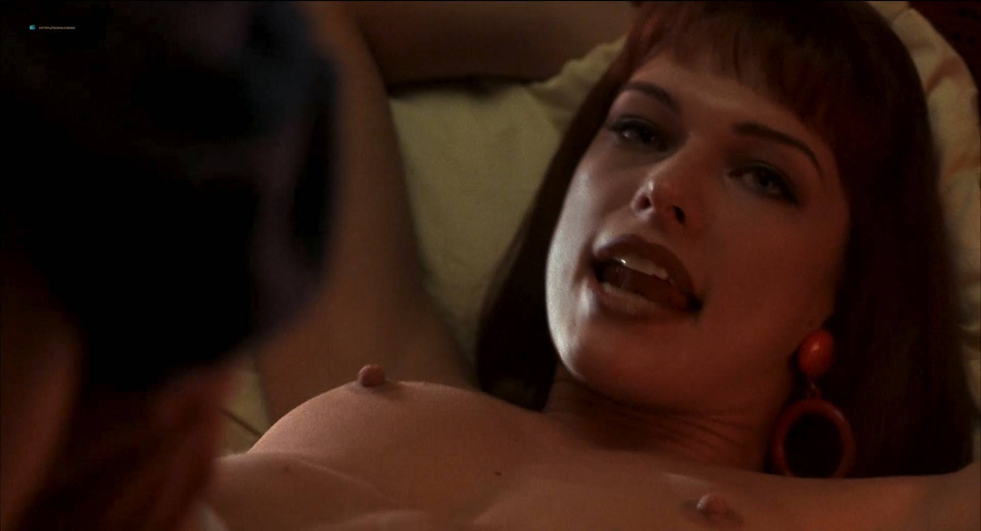 Milla Jovovic nude and sex Rosario Dawson and other's nude too - He Got Game (1998) HD 1080p BluRay (11)