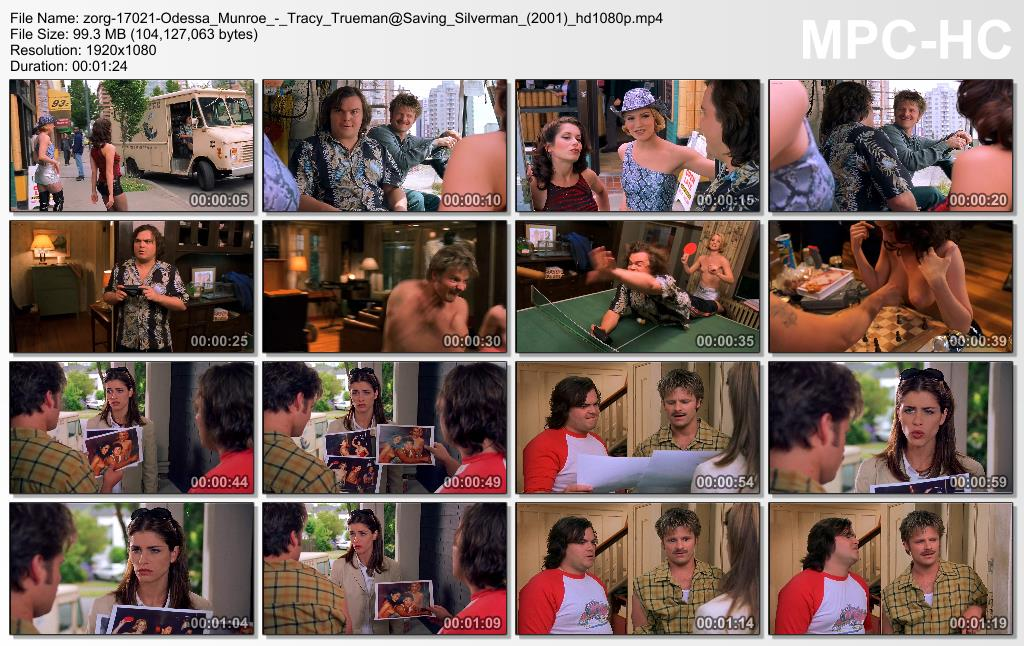 Odessa Munroe and Tracy Trueman nude topless - Saving Silverman (2001) hd1080p