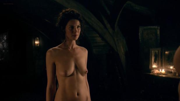 Caitriona Balfe nude topless butt an hot sex - Outlander (2014) s1e7 hd720p (5)