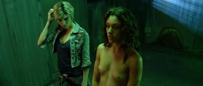 Katie Cassidy nude topless and sex and Ashlynn Yennie nude - The Scribbler (2014) hd1080p (15)