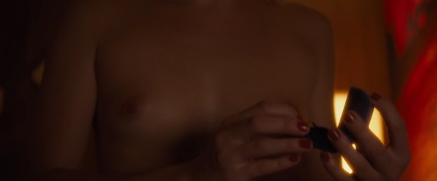 Addison Timlin hot in the bath and sex and Morganna May nude sex - The Town That Dreaded Sundown (2014) hd720p (12)
