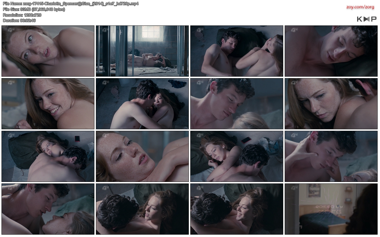 Charlotte Spencer nude butt and brief topless - Glue (2014) s1e7 hd720p (5)