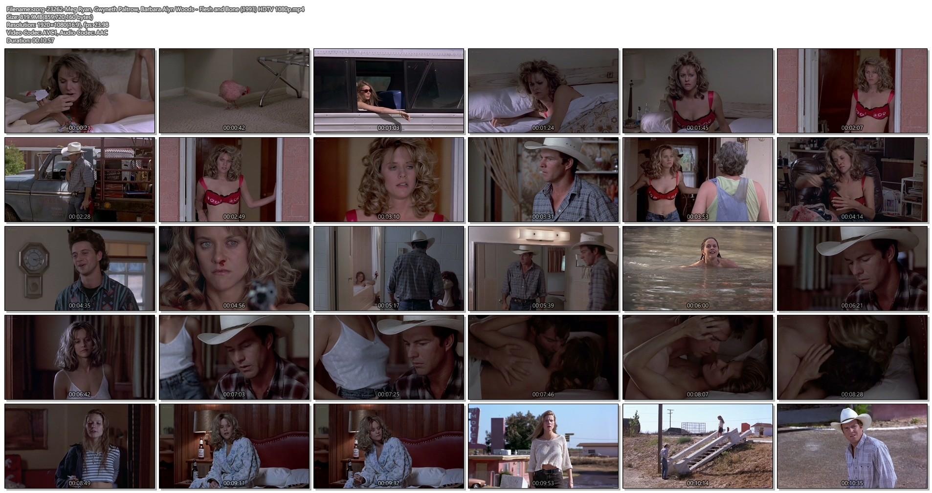 Gwyneth Paltrow nude Meg Ryan and Barbara Alyn Woods nude too - Flesh and Bone (1993) HDTV 1080p (1)