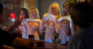 Julianna Guill not nude but hot Michelle Gordon nude and others all nude - Road Trip-Beer Pong (2009) (10)