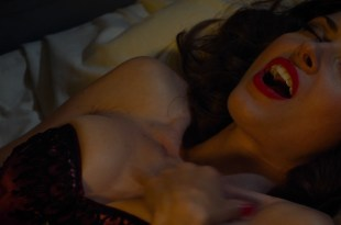 Sarah Lind nude topless and sex with the wolfcop – Wolfcop (2014) hd1080p