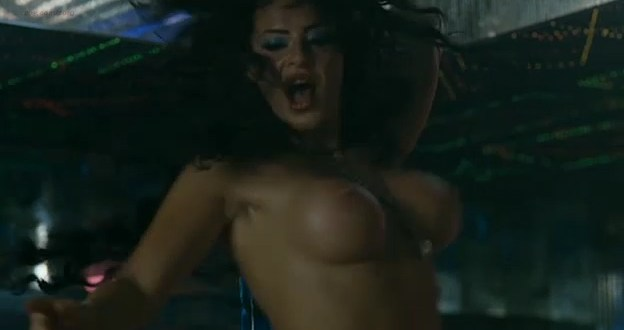 Vicky Rueda nude as stripper huge firm boobs - Paraiso Travel (2008)