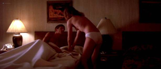 Alexandra Paul nude topless and lame sex American Flyers (1985) HD 720p (9)