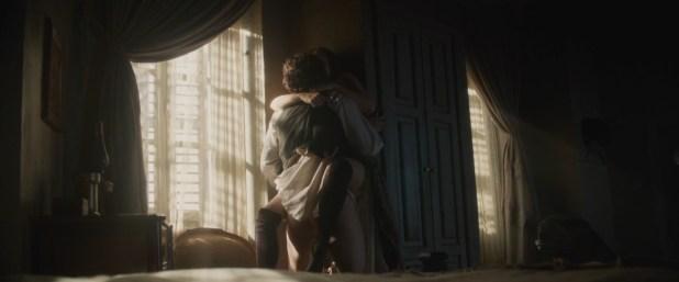 Elizabeth Olsen nude brief topless and hot sex - In Secret (2013) hd1080p Web-Dl (2)