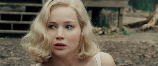 Jennifer Lawrence hot sexy some sex and great cleavage - Serena (2014) hd1080p (10)