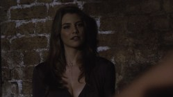 Lauren Cohan hot huge claveage and very sexy though mean - Death Race 2 (2010) hd1080p (2)