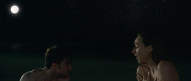 Zoe Kazan nude butt and Megan Park and MacKenzie Davis not nude but hot bikini- What If (2014) hd1080p (11)