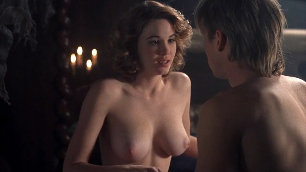 Cristi Harris nude topless and sex Zoe Trilling not nude stripping and few other nude full frontal - Night of the Demons 2 (1994) hd1080p 3