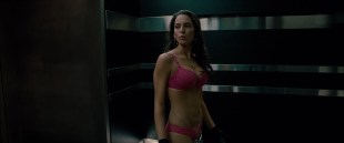 Elizabeth Banks hot pokies and Genesis Rodriguez hot and sexy in bra and panties - Man on a Ledge (2012) hd1080p