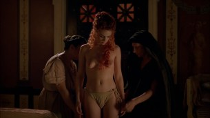 Kerry Condon nude full frontal some sex and lesbian - Rome (2005) season 1 hd1080p (5)
