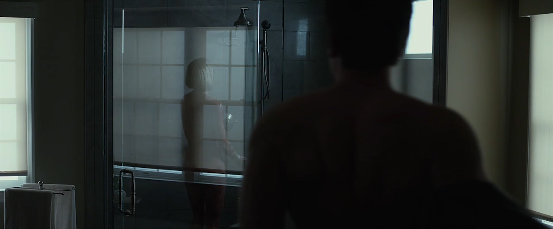 Rosamund Pike nude side boob and sex and Emily Ratajkowski nude topless and sex - Gone Girl (2014) WEB-DL hd1080p (2)