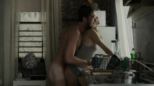 Allison Williams nude butt naked and sex and Lena Dunham sex - Girls (2015) s4e1 hd720p (2)