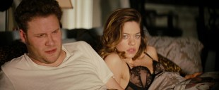 Analeigh Tipton cute and sexy in see through bra - The Green Hornet (2011) hd720p