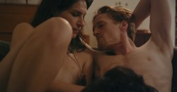 Desiree Akhavan nude topless and sex threesome - Appropriate Behavior (2014) WEB-DL hd720p (2)