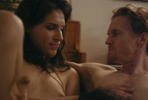Desiree Akhavan nude topless and sex threesome – Appropriate Behavior (2014) WEB-DL hd720p