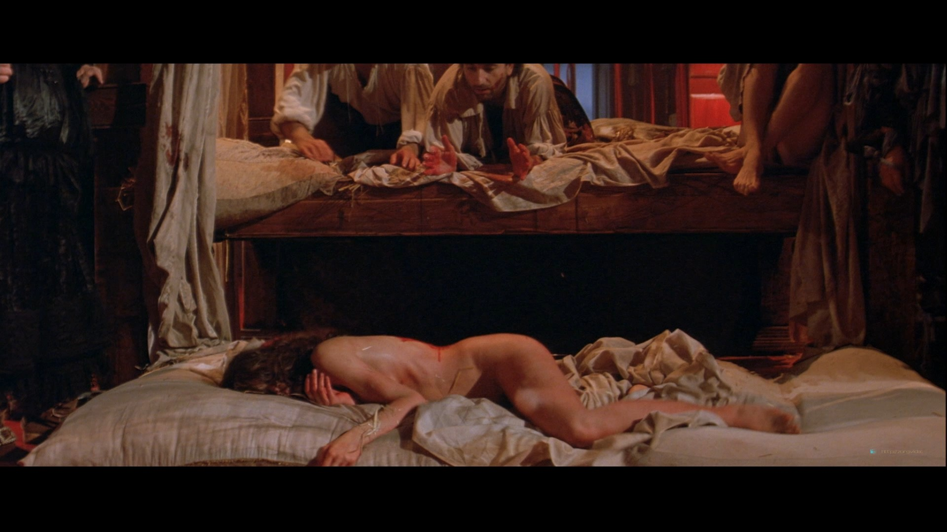 Julia Ormond nude full frontal bush and nude topless - The Baby of Macon HD 1080p BluRay(r) (2)