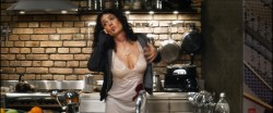 Salma Hayek nude butt naked and great cleavages - Everly (2014) hd1080p BluRay (1)