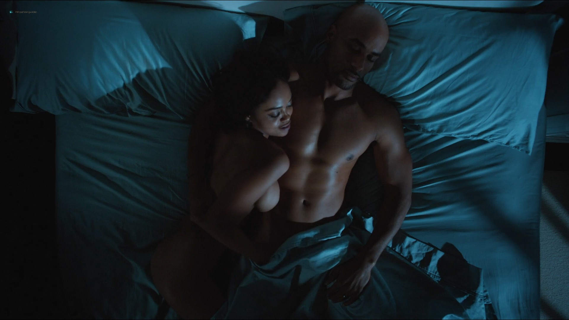 Sharon Leal nude and lot of sex others nude too - Addicted (2014) HD 1080p (17)