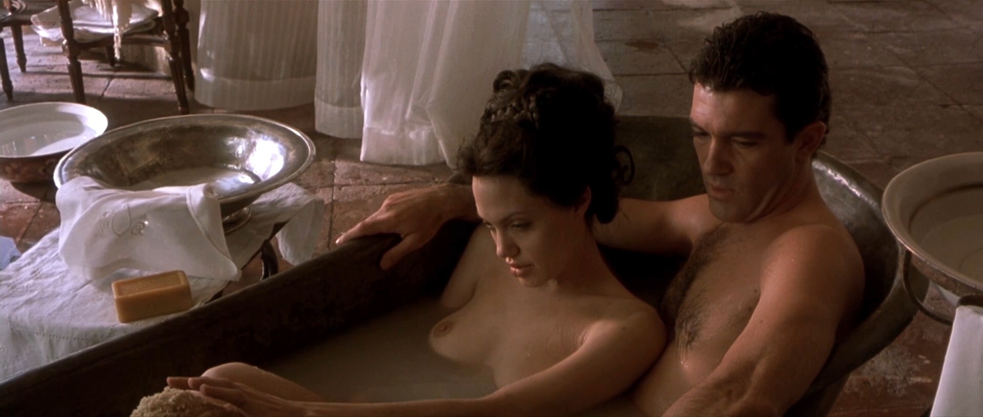 Angelina Jolie Nude And Hot Sex In - Original Sin 2001 -3338