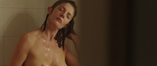 Chiara Mastroianni nude brief topless in shower - 3 coeurs (FR-2014) hd720p