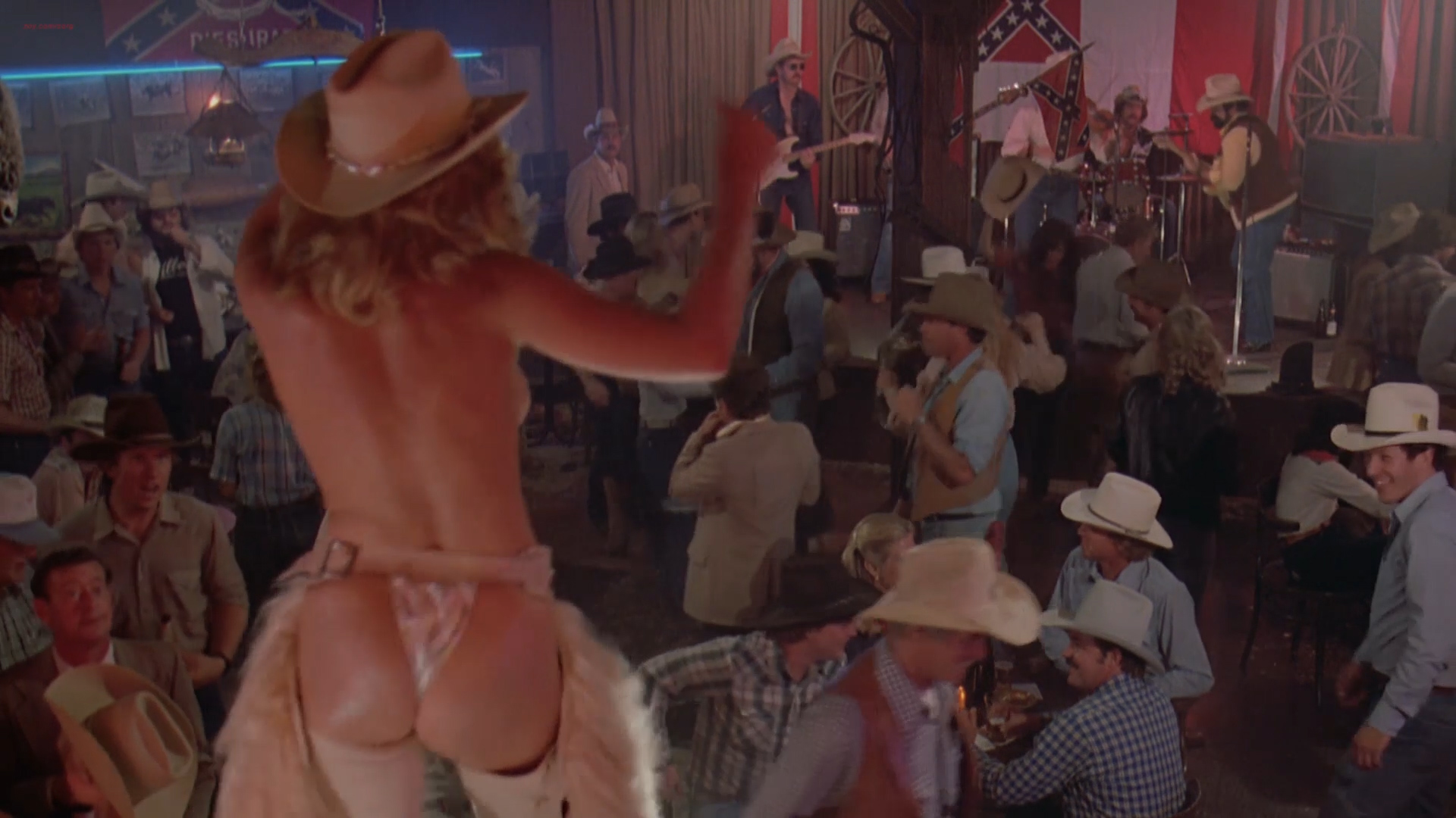 Greta Blackburn nude butt and topless Annette O'Toole not nude hot - 48 Hrs (1982) hd1080p (3)