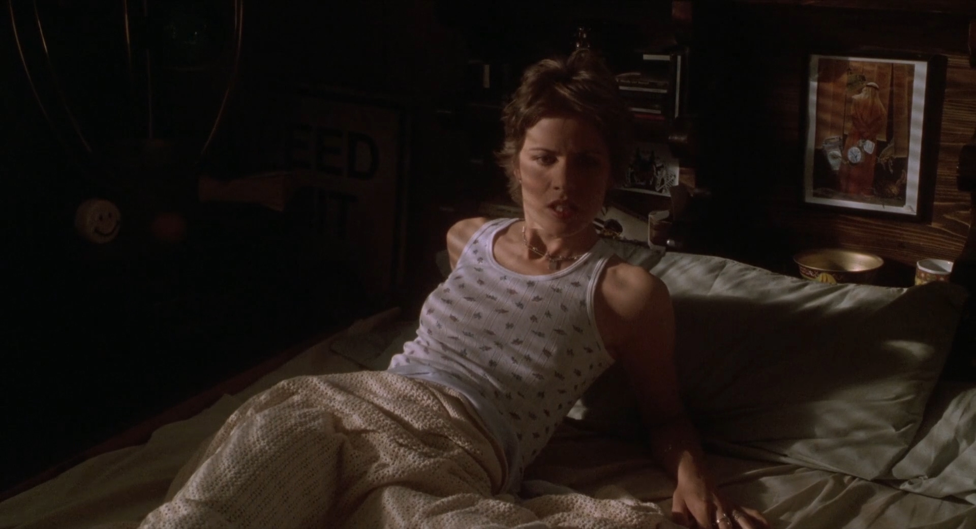Candy Yuen Nude Simple kim dickens nude brief topless while having sex - truth or
