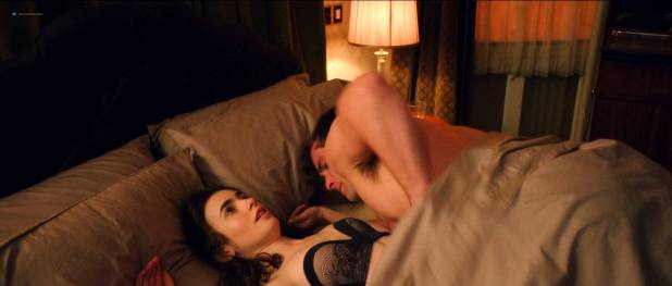 Lily Collins hot and cute in lingerie - Love Rosie (2014) HD1080p BluRay (8)
