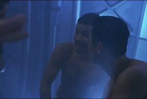 Robin Tunney nude zero gravity sex and Angela Bassett nude butt - Supernova (2000) hdtv1080p (9)