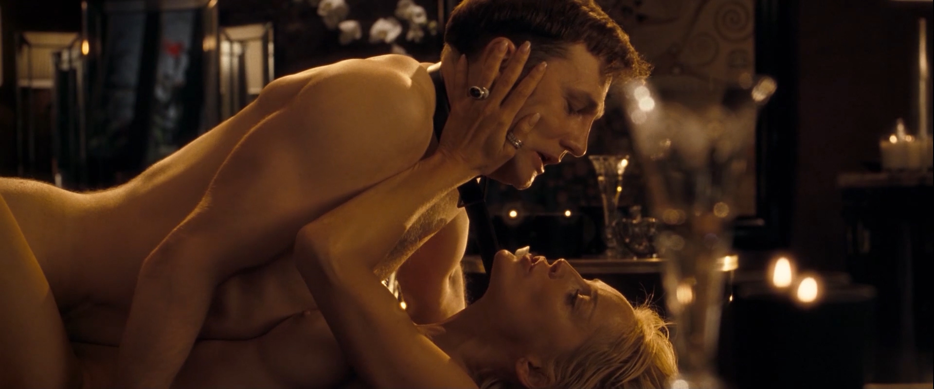 Sharon Stone nude topless sex and Flora Montgomery nude - Basic Instinct 2 (2006) hd1080p (15)