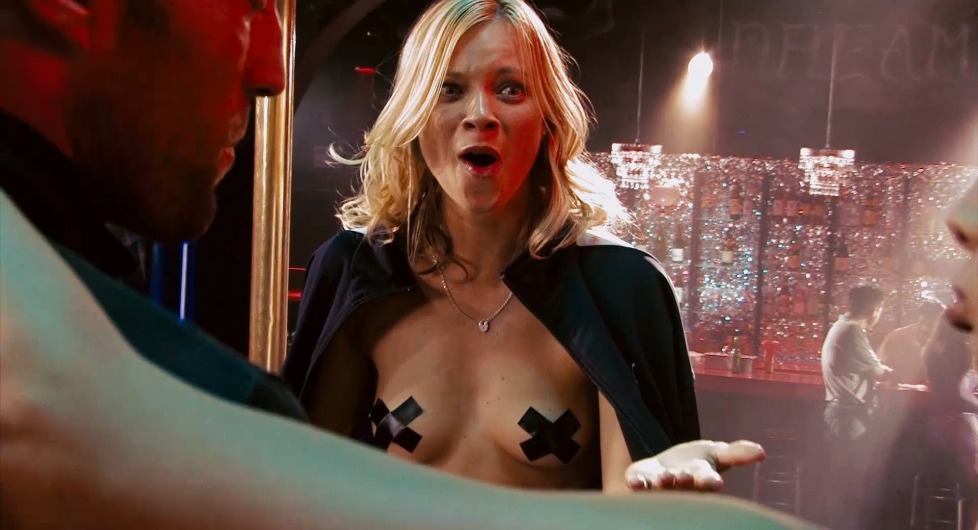 Amy Smart Crank 2 Nude amy smart nude topless covering nipples and funny - crank 2