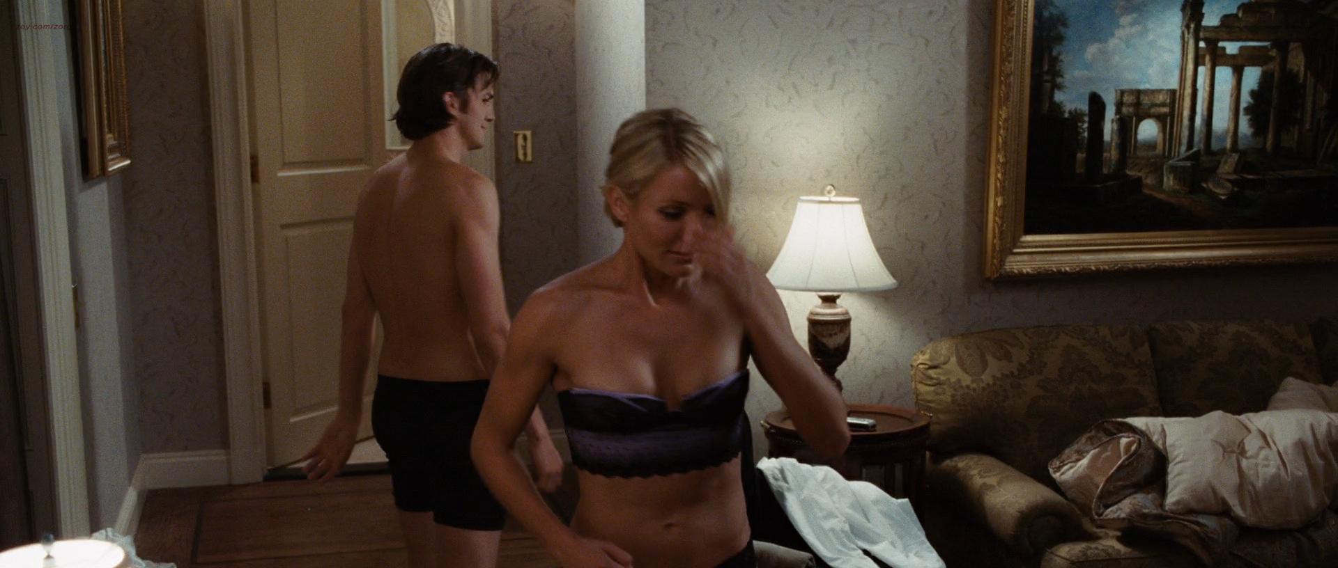 Cameron Diaz hot Krysten Ritter lingerie and Lake Bell hot in undies - What Happens In Vegas (2008) hd1080p (16)
