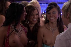 Christine Nguyen nude topless and Angelina Bulygina nude – Party Down (2009) s1e5