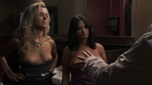 Jennifer Wenger nude topless and Anastasia Ganias nude too - Party Down (2009) s2e8