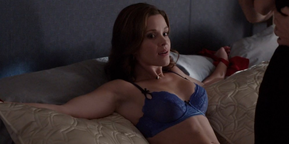 Kayla Mae Maloney hot in lingerie and bound - The Following (2015) s3e1 hd720p (2)