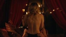 Emily Bett Rickards nude sex but covered - Arrow (2015) s3e20 hd720p. (3)