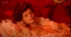 Laura Antonelli nude topless and nude butt and bush - Mio Dio Come Sono Caduta In Basso (IT-1974) (14)