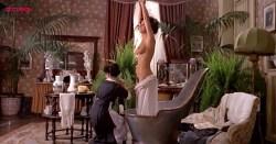 Laura Antonelli nude topless and nude butt and bush - Mio Dio Come Sono Caduta In Basso (IT-1974) (4)