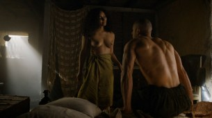 Meena Rayann nude full frontal and Emilia Clarke not nude but hot - Game of Thrones (2015) s5e1 hd1080p (3)