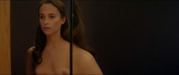 Alicia Vikander nude full frontal Sonoya Mizuno nude bush and others nude - Ex Machina (2015) hd1080p (1)