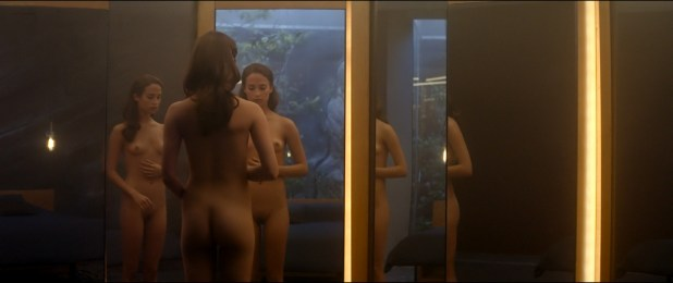 Alicia Vikander nude full frontal Sonoya Mizuno nude bush and others nude - Ex Machina (2015) hd1080p (13)