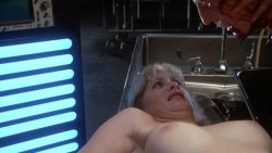 Barbara Crampton nude topless bush and bloody - Re-Animator (1985) hd1080p (3)