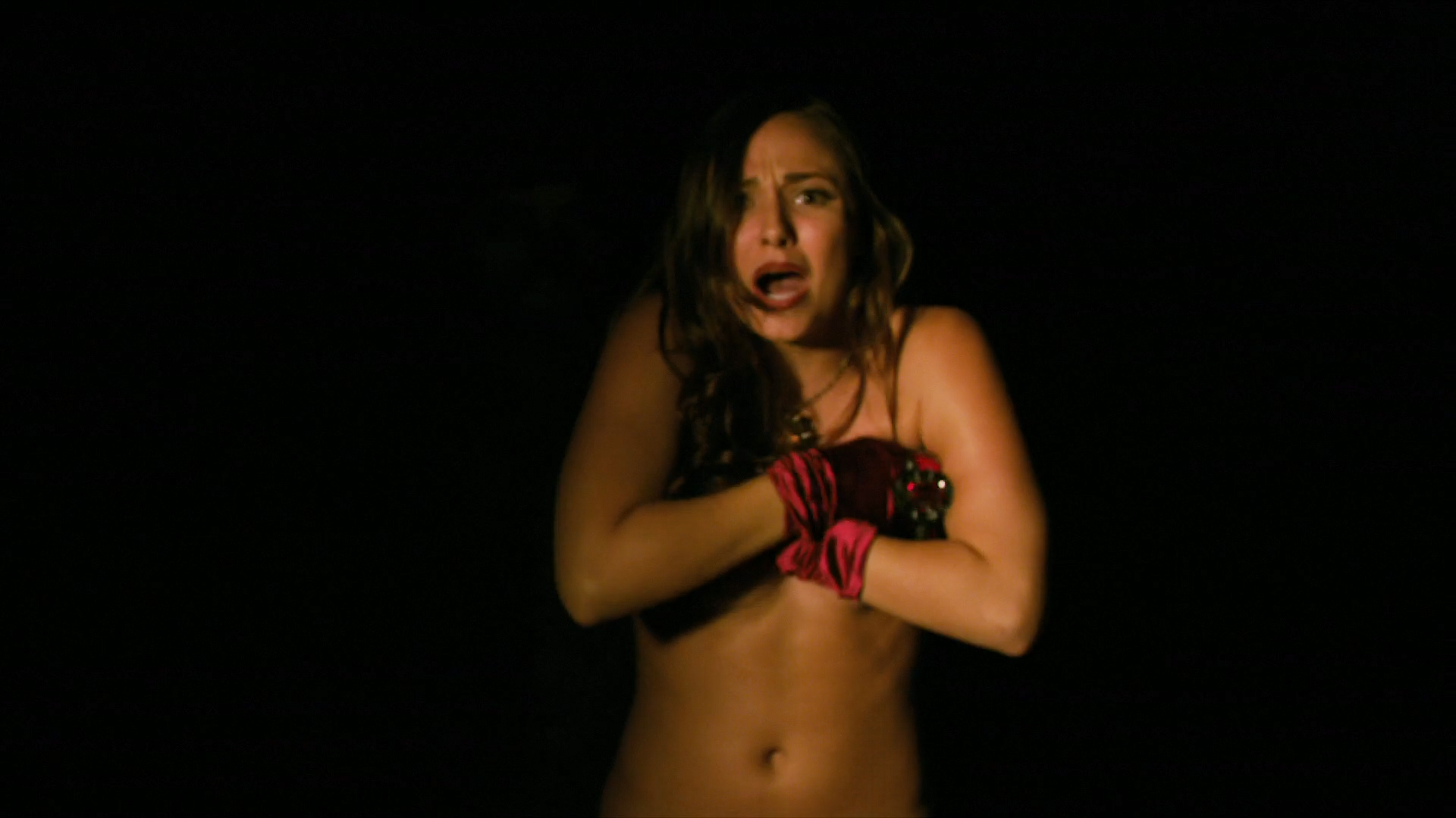 Briana Evigan nude topless with pasties - The Devil's Carnival (2012) hd1080p. (5)