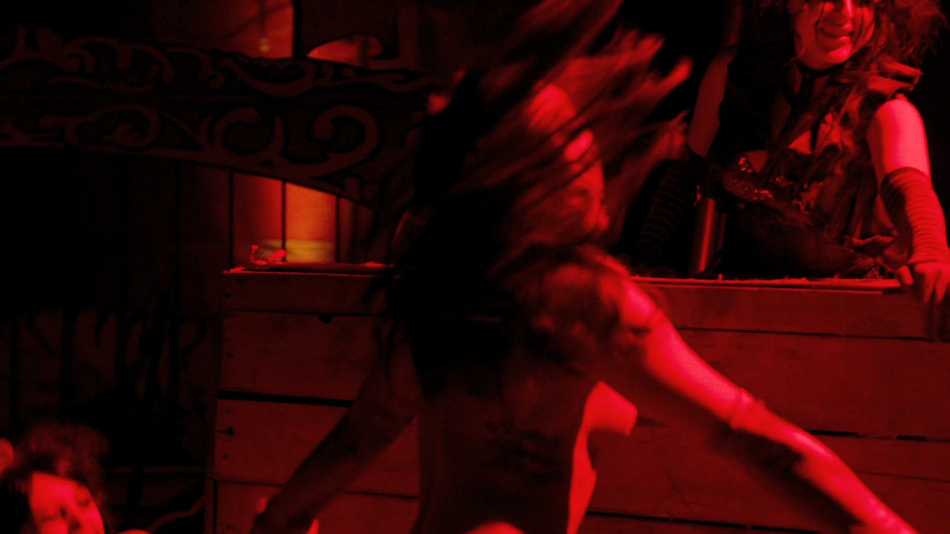 Briana Evigan nude topless with pasties - The Devil's Carnival (2012) hd1080p. (3)